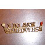 I do Avon Makeovers Pin- Jewelry - $9.99