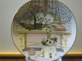 "Royal Worcester Collector Plate - ""Two Against ... - $8.00"