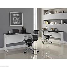 Executive Office Furniture L Desk Set Wood Mode... - $385.70