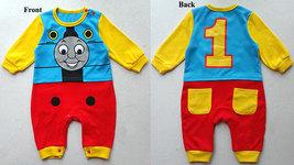 Disney Thomas Train Baby Infant Toddler Cartoon Onesie Bodysuit Romper J... - $31.00+