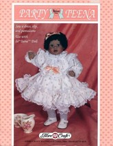 "Party Teena Outfit for 16"" Doll PATTERN Craft Sewing - 30 Days To Shop & Pay! - $2.67"