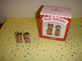 Hallmark 1997 Merry Miniatures Panda Kids - $6.99