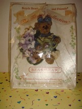 Boyds Bears Pin Iris.. Purple Passion - $8.79