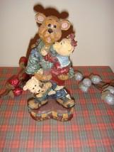 Boyds Bears Carvers Choice Chester Bigheart Love Much - $13.99