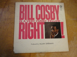 LP Bill Cosby 'Is a Very Funny Fellow Right' classic comedy album vinyl - £1.15 GBP