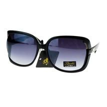 Giselle Lunettes Sunglasses Womens Oversized Square Frame Designer - $9.95