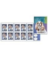 AUSTRALIA 2013 DOGS CHIENS BOOKLET CAVALIER KING GEORGE COCKER SPANIEL 1... - €8,04 EUR