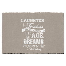 Kraft Laughter is Timeless Walt Disney Quote Door Mat - $32.99+