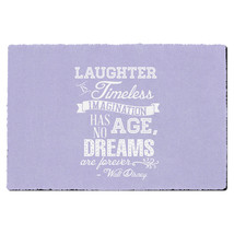 Lilac Laughter is Timeless Walt Disney Quote Door Mat - $32.99+