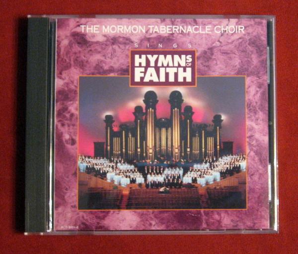 Hymns of Faith Mormon Tabernacle Choir Gospel Music Christian CD