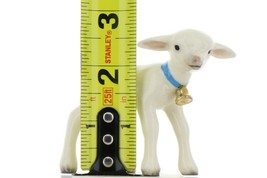 Hagen Renaker Miniature Lamb Large with Bell Ceramic Figurine image 2