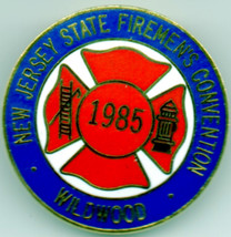 WILDWOOD, NEW JERSEY 1985 State Firefighters Convention COLLECTIBLE  LAP... - $2.96