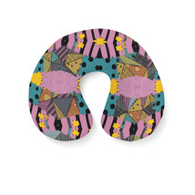 Ragdoll Patchwork Sally Travel Neck Pillow - $25.22 CAD