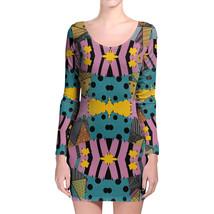 Ragdoll Patchwork Sally Longsleeve Bodycon Dress - $36.99+