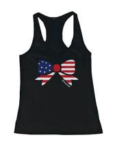 Women's Funny Graphic Tanks shirts Unisex - American Flag Ribbon - $14.99+