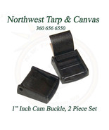 """Cam Buckle for 1"""" Inch Webbing, Acetal Plastic, 2 Piece Set Fast Shipping! - $3.69"""