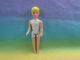 Mattel Fashion Polly Pocket Boy Doll Blonde Molded Hair White Underwear ... - $4.21