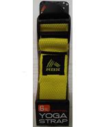 RBX 6' foot Cotton Yoga Strap in Yellow NIP - $8.36