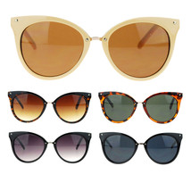 Womens Retro Cat Eye Designer Fashion Trendy Runway Hipster Sunglasses - $9.95