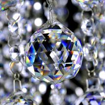 5cm Crystal Chandelier Hanging Fengshui Ball Suncatcher DIY Christmas Decoration - $6.99