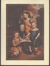 Greeting Card - Early American Family Portrait - $3.00