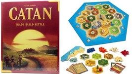 NEW Settlers Catan Trade Build Settle Strategy ... - $50.46