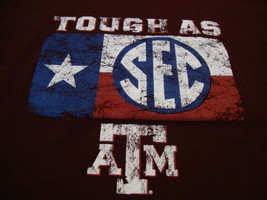 NCAA Texas A&M Aggies College University SEC Sports Fan Champion Brand T Shirt L - $17.17