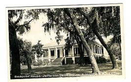 Beauvoir House Jefferson Davis Shrine Biloxi Mississippi Real Photo Post... - $17.82