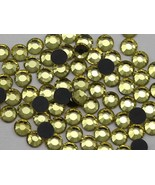 6mm SS30 Joinquil Y213 Hotfix Rhinestones (2 Gross)-288 Pieces - $17.26