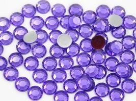 3mm SS12 Violet A24 Acrylic Rhinestones - 200 PCS - $4.87