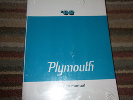 1968 Plymouth Valiant Signet Barracuda Belvedere Service Shop Repair Manual NEW - $108.85
