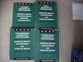 2004 Dodge Stratus & Sedan Service Shop Repair Manual Diagnostics 04 - $55.20