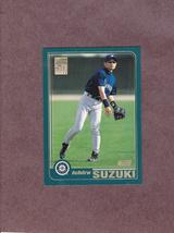 2001 Topps # 726 Ichiro Suzuki Rookie Card Seattle Mariners - $5.99