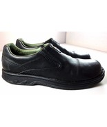 Merrell World Legend Black Leather Casual Slip On Shoes Mens Size 12 - $69.95