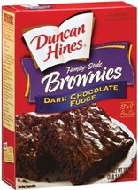 Duncan Hines Dark Chocolate Fudge Brownie Mix - 2 boxes image 12