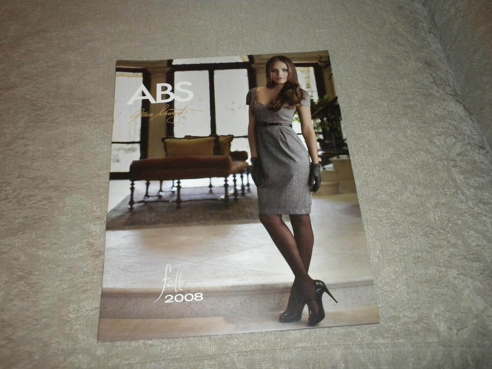 Primary image for ABS Allen Schwartz Womens Fall Fashion catalog 14 pgs; grt clothes & model 2008