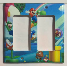 Super Mario Bro Light Switch Power Duplex Outlet Wall Plate Cover Home Decor image 7