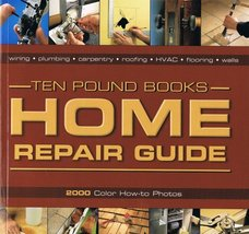Home Repair Guide: 2000 Color How-To Photos [Paperback] ten-pound-books - $6.85