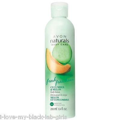 NATURALS Cucumber and Melon Fresh Fraicheur Refreshing Body Lotion NEW 8.4 oz
