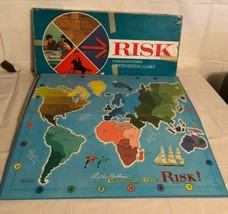 Vtg Risk Board Game 1968. Original Box Cards And Pieces. Parker Brothers. - $16.39