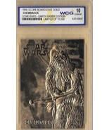 "STAR WARS ""CHEWBACCA & DARTH VADER"" GEM-MT 10 ""23 KT GOLD CARD! 1/10,000! - $14.69"