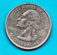 1999 D Conneticut State Washington Quarter - Uncirculated Near Brillant - $1.25