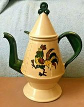 "CALIFORNIA-- Metlox (Poppy Trail) California Provincial Coffee Pot 11"" Tall - $29.95"