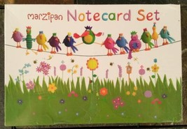 Marzipan Birds - 20 Assorted Notecards / Envelopes by Paper Rose Greetin... - $14.80