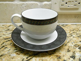 Dansk Amish Shadow cup and saucer - $5.89