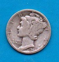 1941 Mercury Dime - Silver - Moderate to Heavy Wear - $6.00