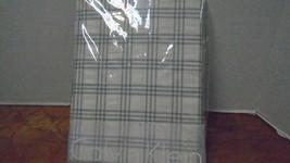 Calvin Klein European Sham Silver Grid Ivory New Camden  Cotton Metallic - $51.17