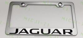 Jaguar  Stainless Steel License Plate Frame Rust W/ Bolt Caps - $13.50