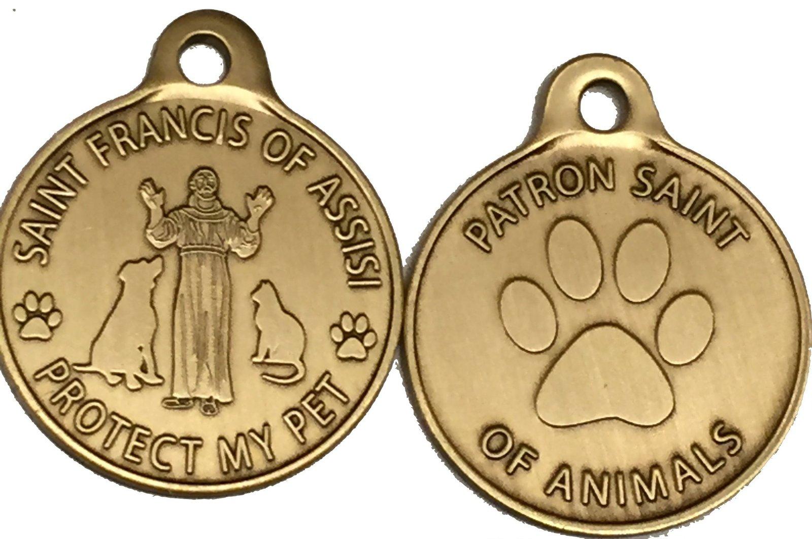 Saint Francis of Assisi Patron Saint Of Pets / Protect My