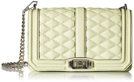 Rebecca Minkoff Love Crossbody Shoulder Bag, Honey Dew, One Size - $179.55